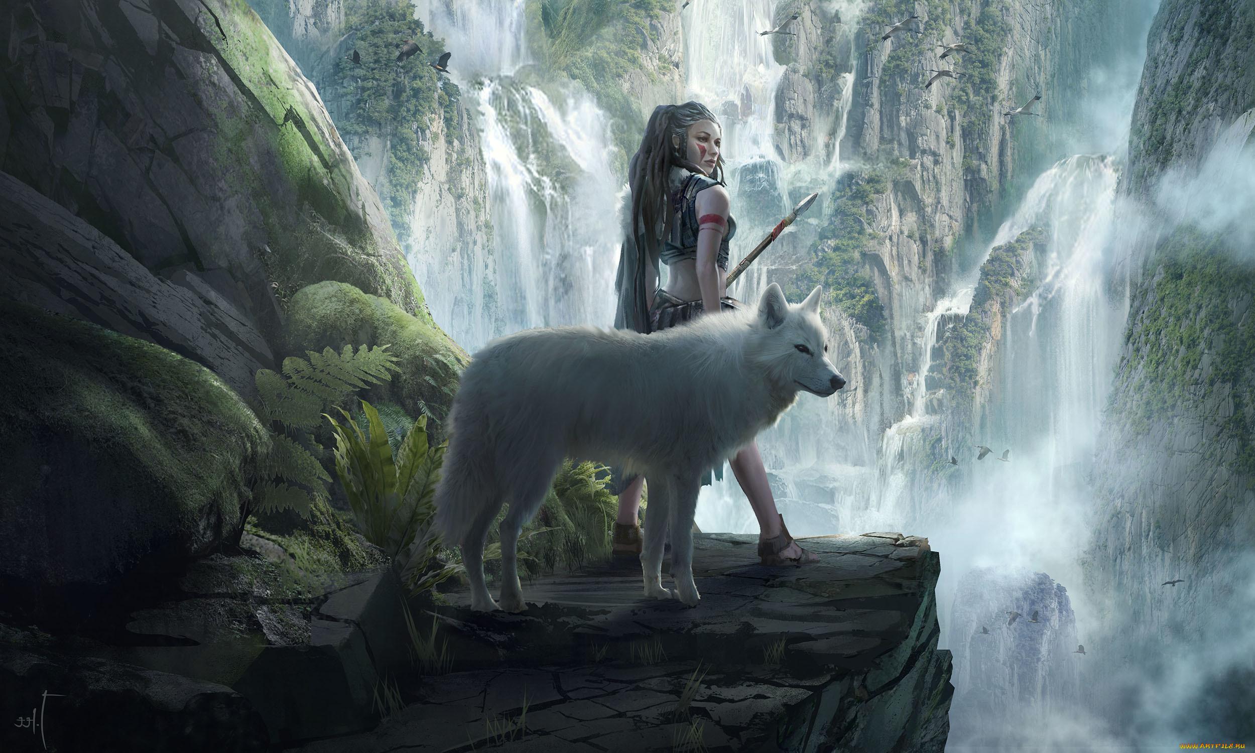что бросается волк и человек картинки на рабочий стол особенностью изделий является